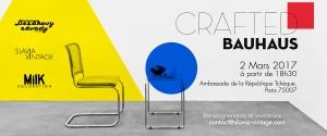 Crafted Bauhaus - Affiche bannière de l'exposition